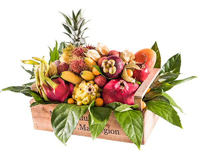 Corbeilles de <br>fruits & légumes